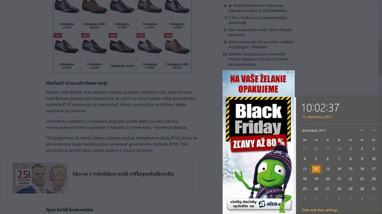 Decembrový Black Friday na Alza